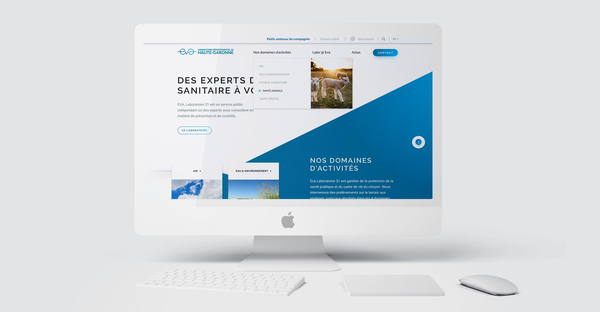 EVA-LABO31 site web