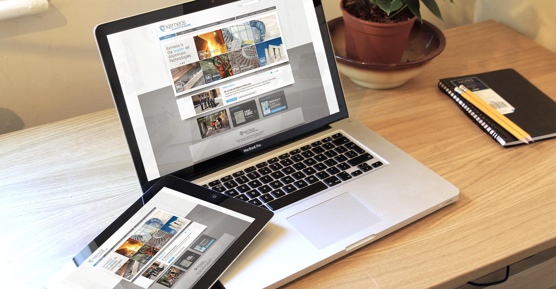 Kerneos site web