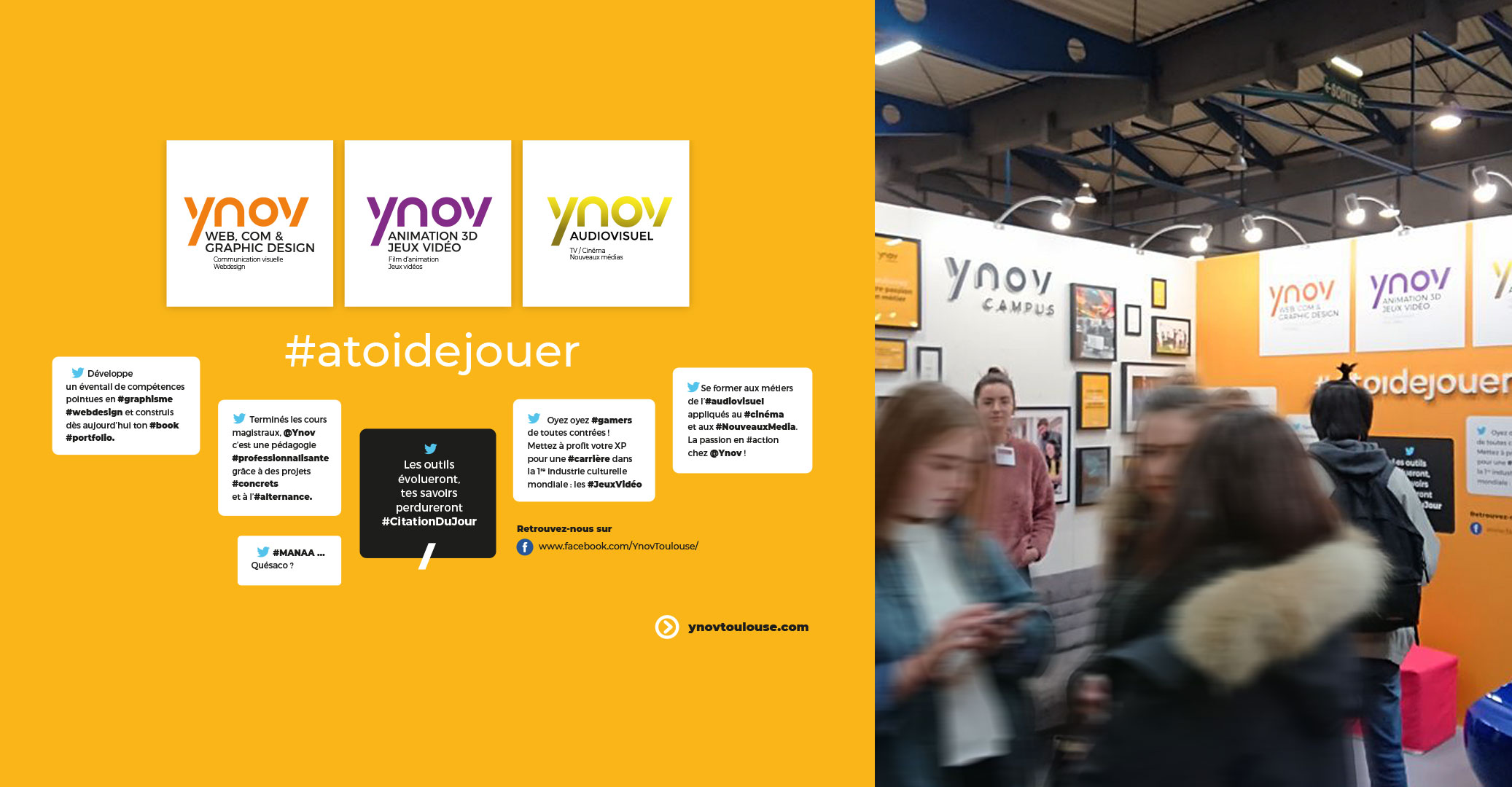 Ynov_Campus stand infosup