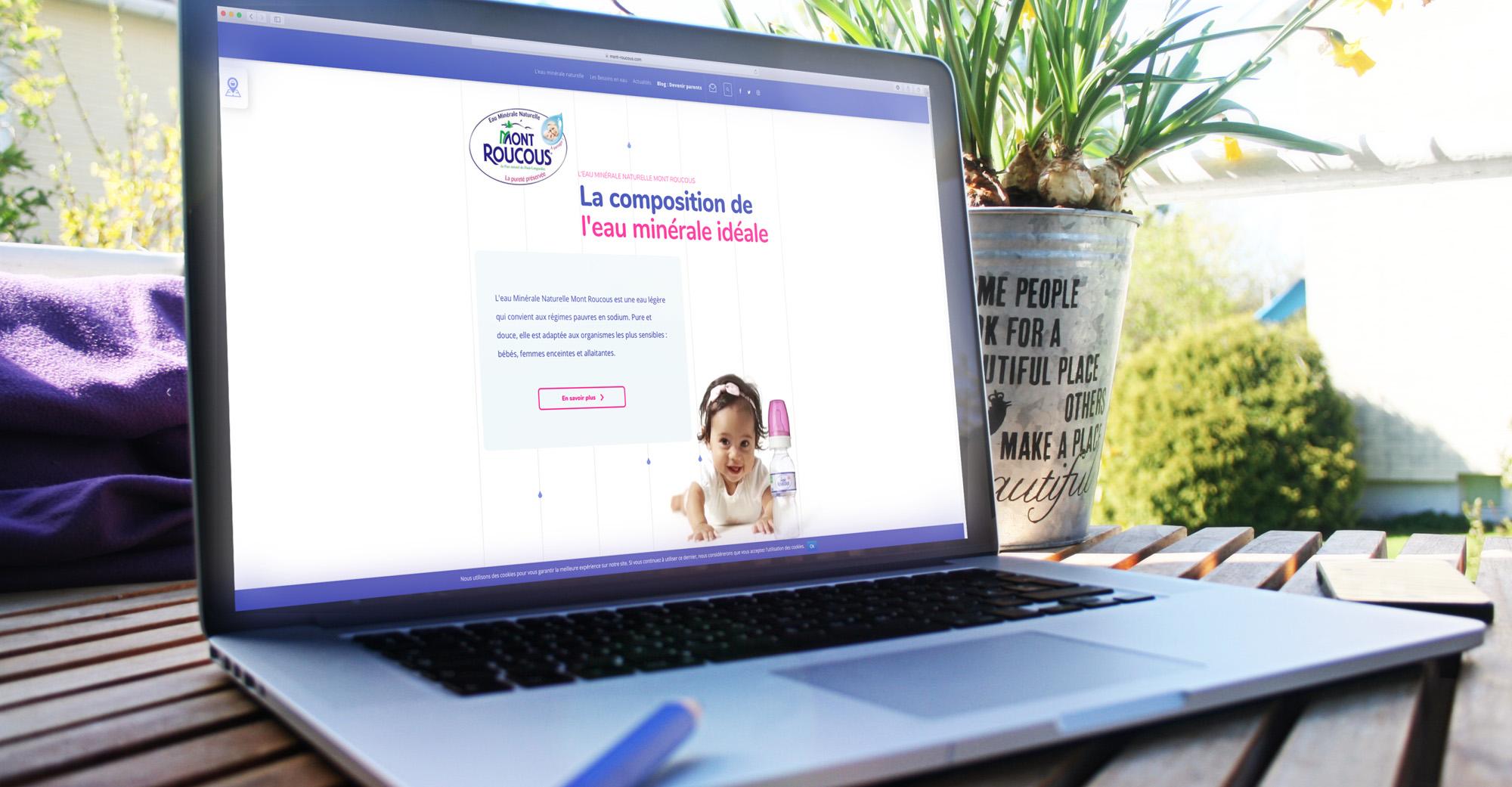 Mont Roucous site internet